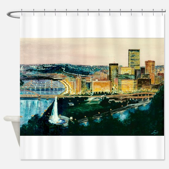 Cute Arts and craft Shower Curtain