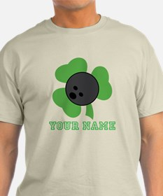 Personalized Irish Bowling Gift T-Shirt