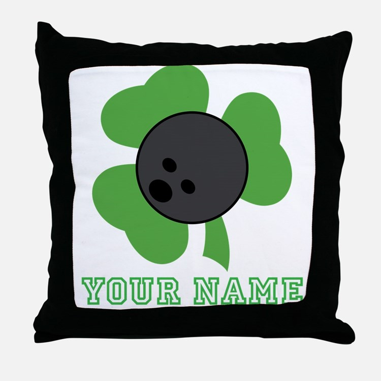 Personalized Irish Bowling Gift Throw Pillow