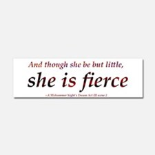 Cute Quote Car Magnet 10 x 3