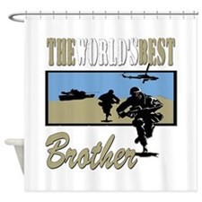 Military Brother Shower Curtain