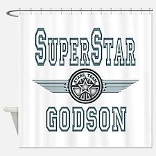 Superstar Godson Shower Curtain