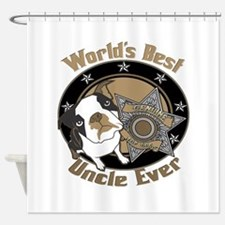 Top Dog Uncle Shower Curtain