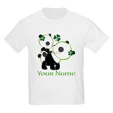Personalized Irish Panda T-Shirt