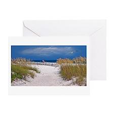 Carefree Beach Days Greeting Card