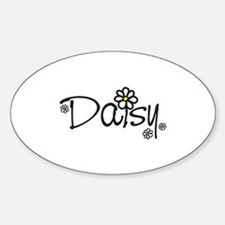 Daisy 01 Sticker (Oval)