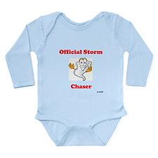 Cute Storm spotters Long Sleeve Infant Bodysuit