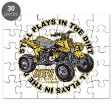 Plays in the Dirt ATV Puzzle