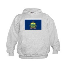 Vermont State Flag Kids' Hoodie