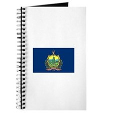 Vermont State Flag Notebook
