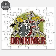 Skeleton Drummer Puzzle
