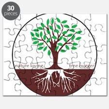 Funny Tree roots Puzzle