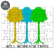 Will Work for Trees Puzzle