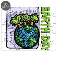Earth Day Trees Puzzle