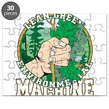 Lean Green Machine Puzzle