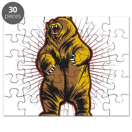 Angry Bear Puzzle