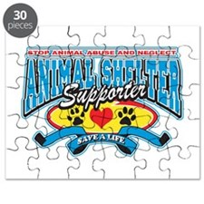 Funny Save a life adopt Puzzle