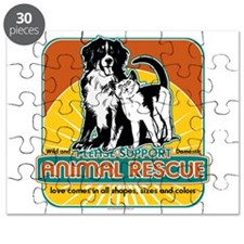 Animal Rescue Dog and Cat Puzzle