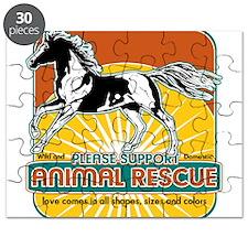 Animal Rescue Horse Puzzle
