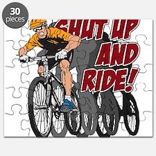 Shut Up and Ride Bike Puzzle