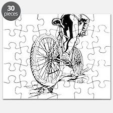 Ride. Mountain Biker Puzzle