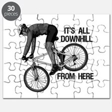 Downhill Mountain Biker Puzzle