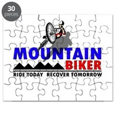 Mountain Biker Ride Today Puzzle