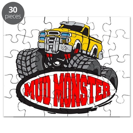 Mud Monster Puzzle