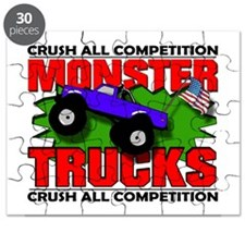 Funny Monster truck Puzzle