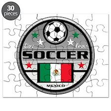 Live Love Soccer Mexico Puzzle