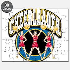 Cheerleader Logo Puzzle