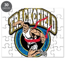 Track and Field Logo Puzzle