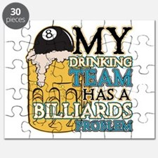 Billiards Drinking Team Puzzle