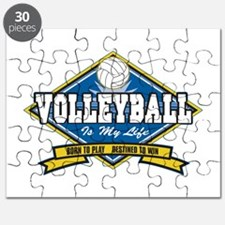 Volleyball Is My Life Puzzle