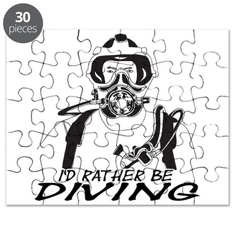 I'd Rather be Diving Puzzle