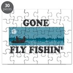 Gone Fly Fishin' Puzzle