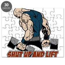 Shut Up and Lift Weightlifter Puzzle