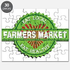 Farmers Market Heart Puzzle