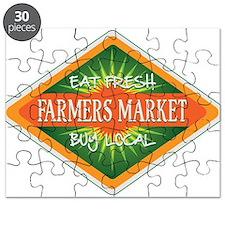 Eat Fresh Farmers Market Puzzle
