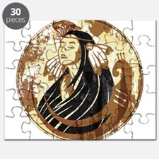 Indian Woman Puzzle