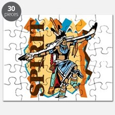 Native American Spirit Dance Puzzle