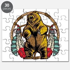 Bear Dream Catcher Puzzle
