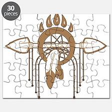 Brown Dreamcatcher Puzzle