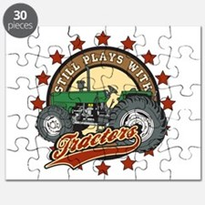 Still Plays with Tractors Green Puzzle