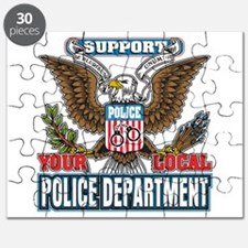 Support Your Local Police Puzzle