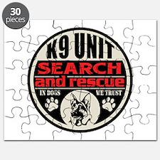 K9 Unit Search and Rescue Puzzle
