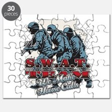 SWAT Team We Make House Calls Puzzle