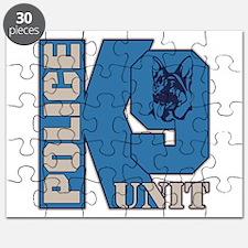 Police K9 Unit Dog Puzzle
