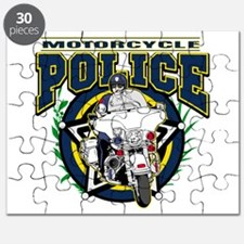 Motorcycle Police Officer Puzzle