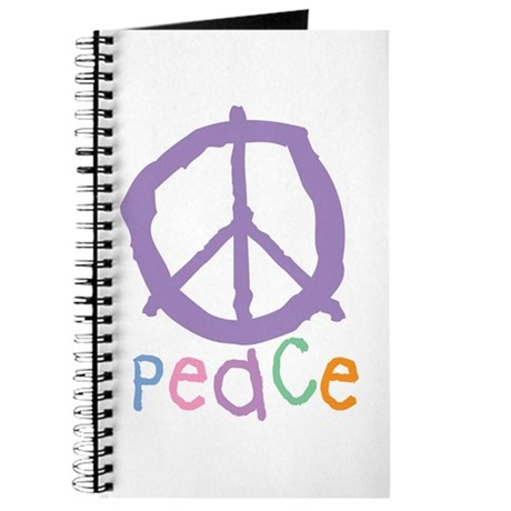 Child's Peace Sign Journal